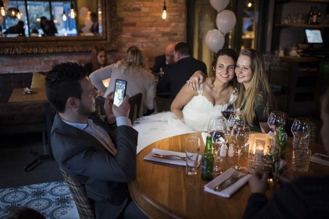 Bruiloft omgeving ronde venen