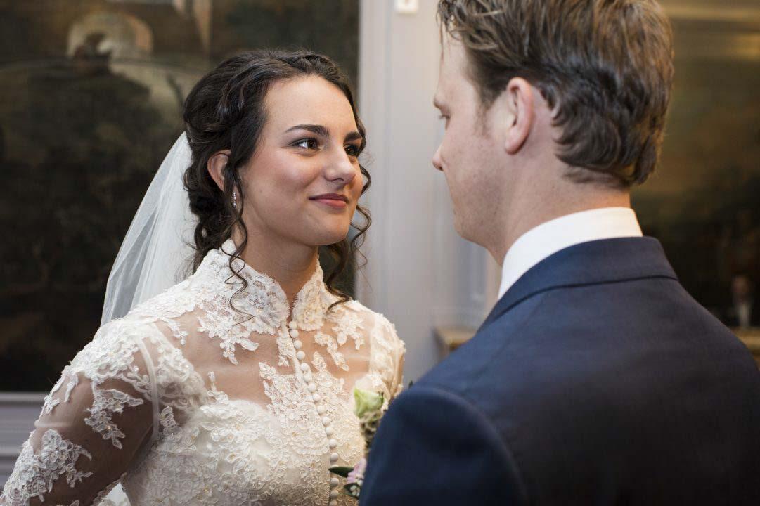 Bruidspaar look